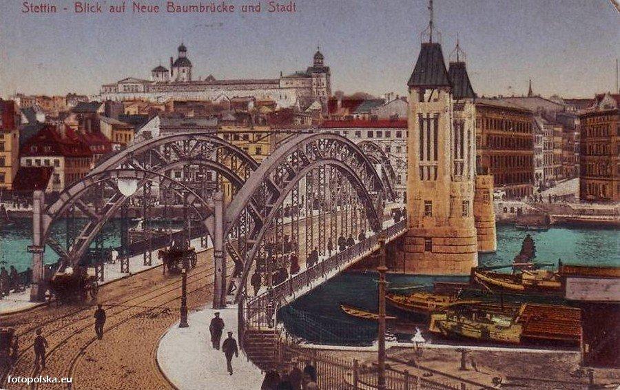 Most Kłodny (Baumbrücke)