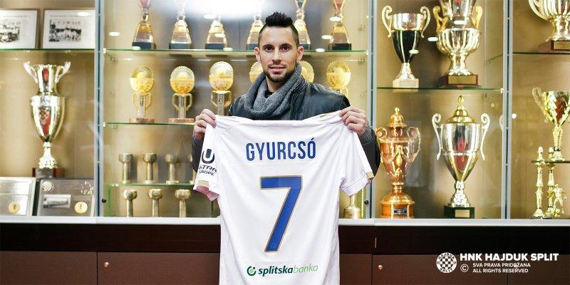 Adam Gyurcsó wypożyczony do Hajduka Split