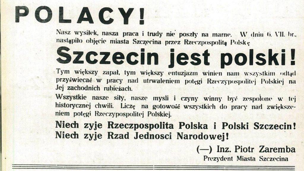 """""""Dziki zachód"""" czyli Szczecin jest polski!"""
