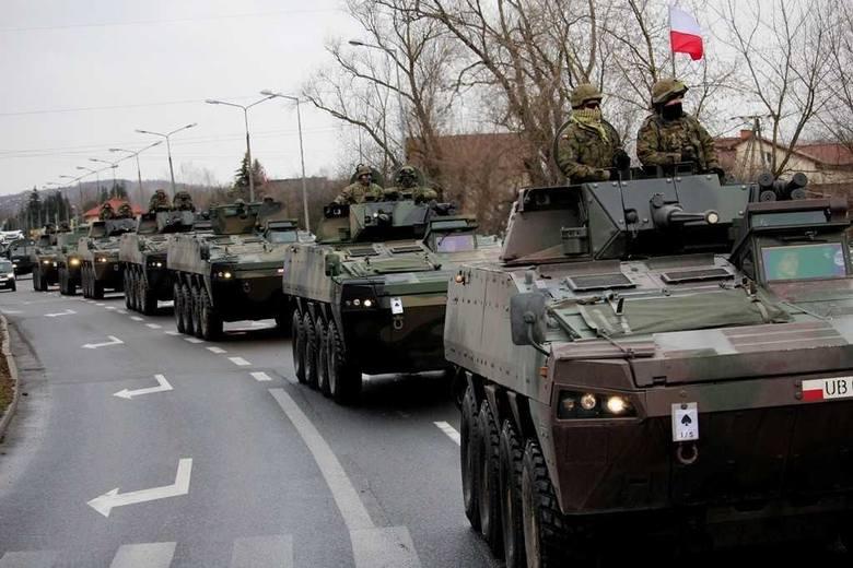 Ćwiczenia wojskowe — utrudnienia w ruchu