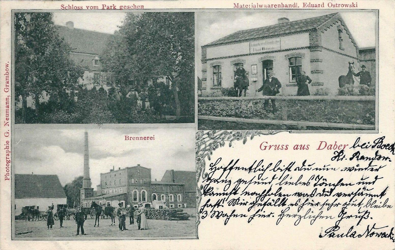 Gmina Dobra lata 1945-1954