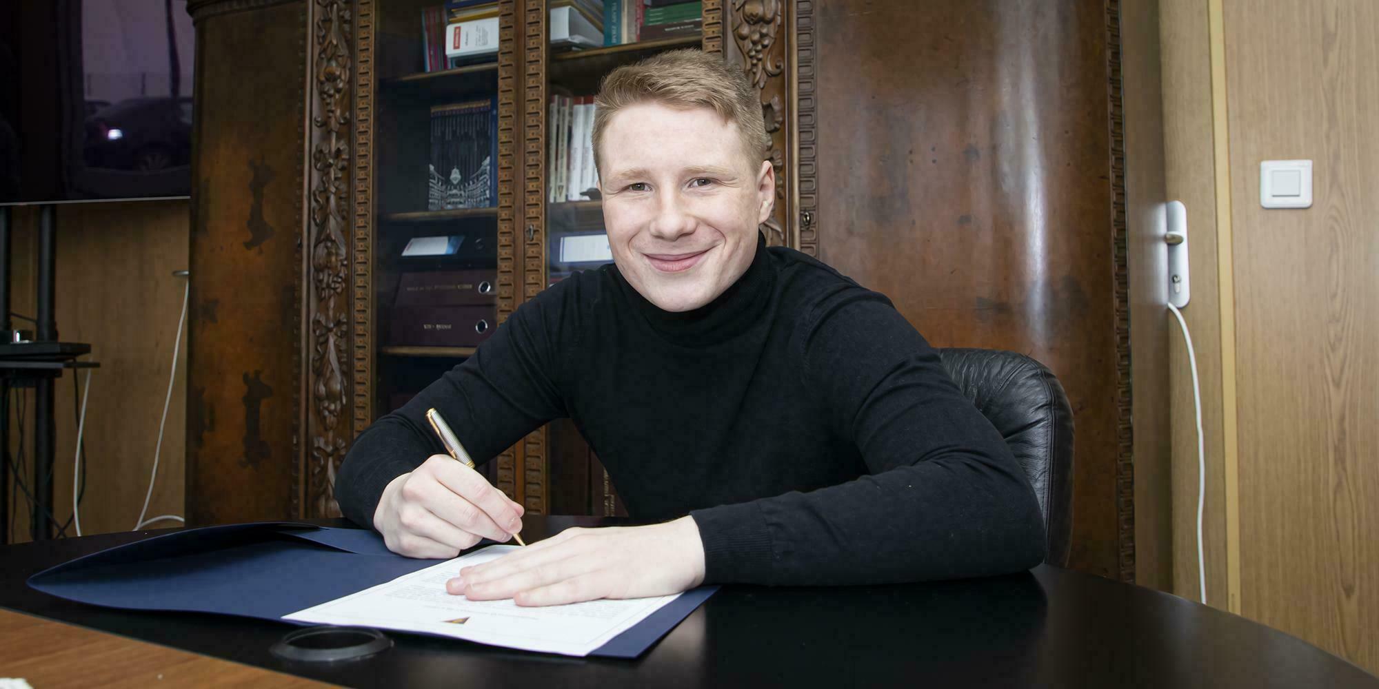 Marcel Wędrychowski do 2024