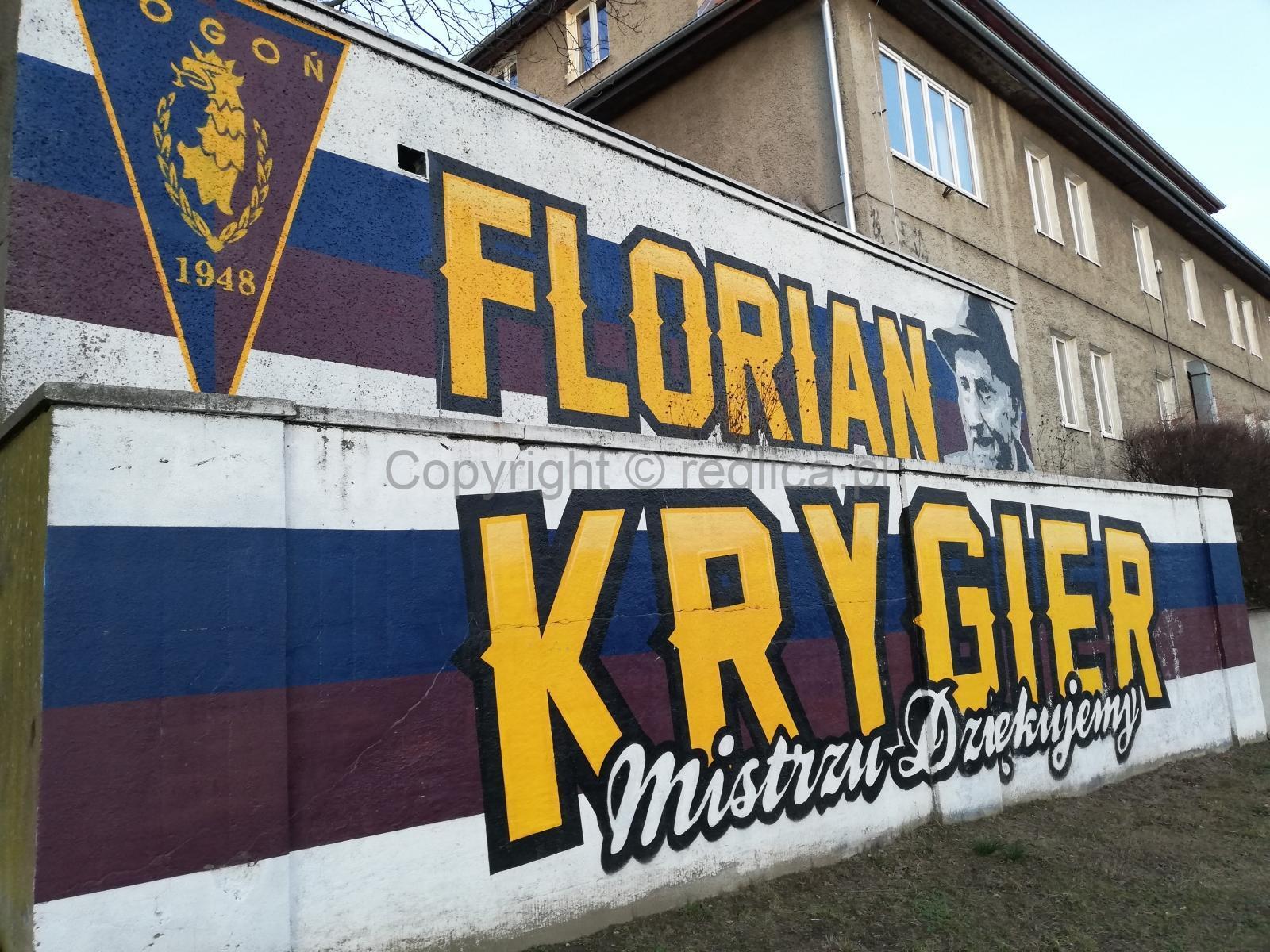 Powstanie pomnik Floriana Krygiera!